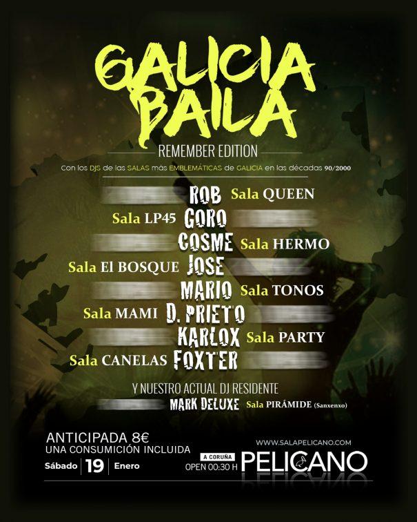 Galicia Baila - Sala Pelícano