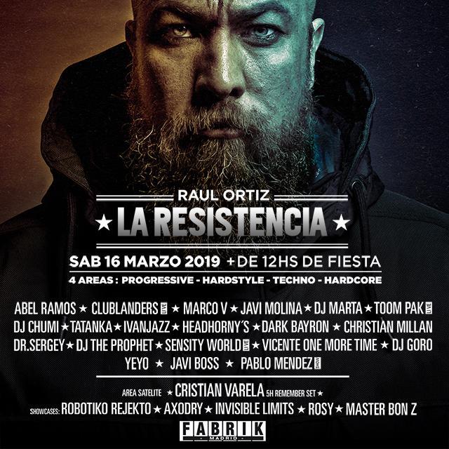 Dj Goro en La Resistencia FABRIK Madrid